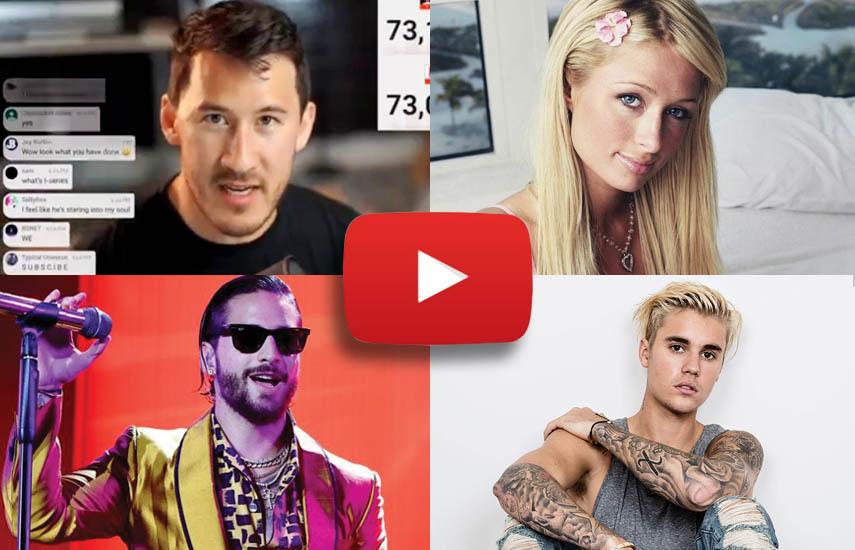 La estrella de youtube Mark Fischbach (A Heist with Markiplier), documentales sobre celebridades como Paris Hilton y el colombiano Maluma, así como un proyecto secreto con el cantante Justin Bieber son algunos de los nuevos shows originales de Youtube.