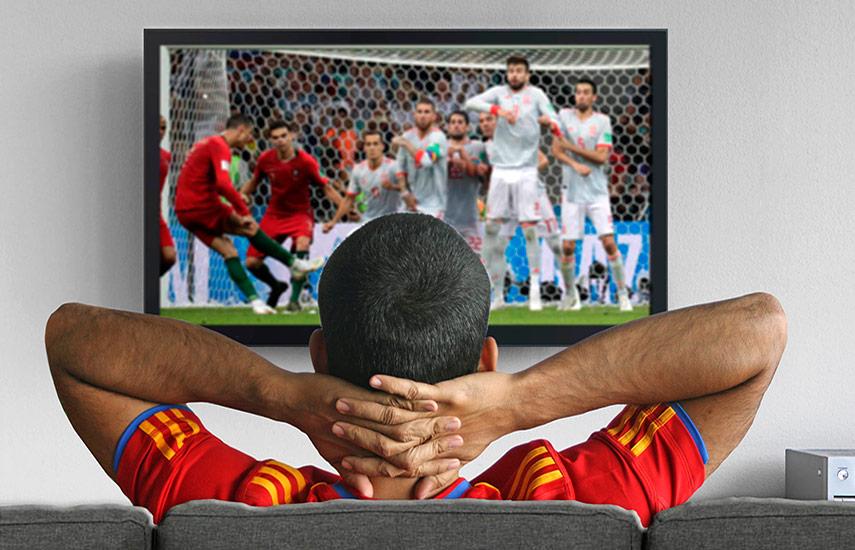 Los televidentes aún consideran sagrada la experiencia televisiva de los grandes eventos deportivos.