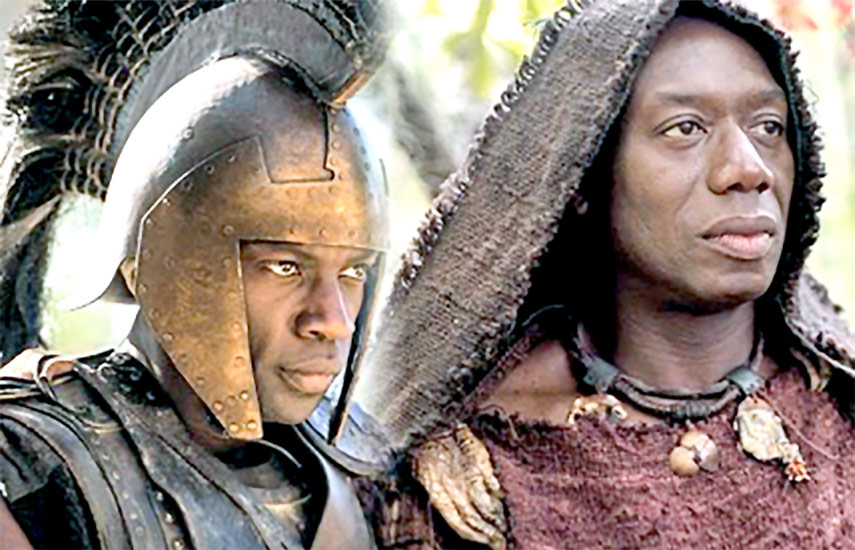 """En """"Troya"""", se verá una representación no convencional del Dios Zeus o del héroe Aquiles"""