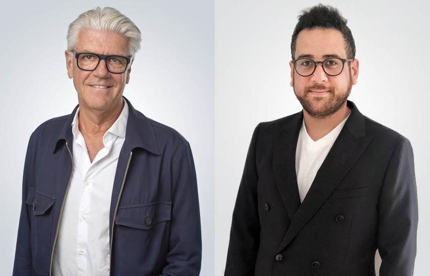 Nicola Söderlund, socio gerente de Eccho Rights, y Adam Barth, nuevo director de Coproducciones, Adquisiciones y Desarrollo de Eccho Rights.