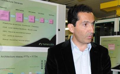 Patrick Drahi, el empresario franco-israelí, máximo ejecutivo de Altice