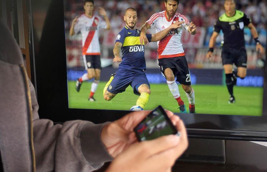 """En el clásico """"Boca Juniors vs. River Plate"""", más de medio millón de personas intentó visualizar ilegalmente el partido a través de redes sociales; 71% más que en el Superclásico que tuvo lugar tan sólo 6 meses antes."""
