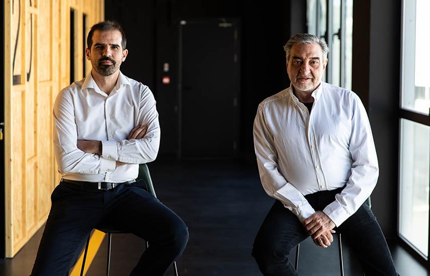 Emilio Amaré, director general, y César Benítez, presidente de Plano a Plano.