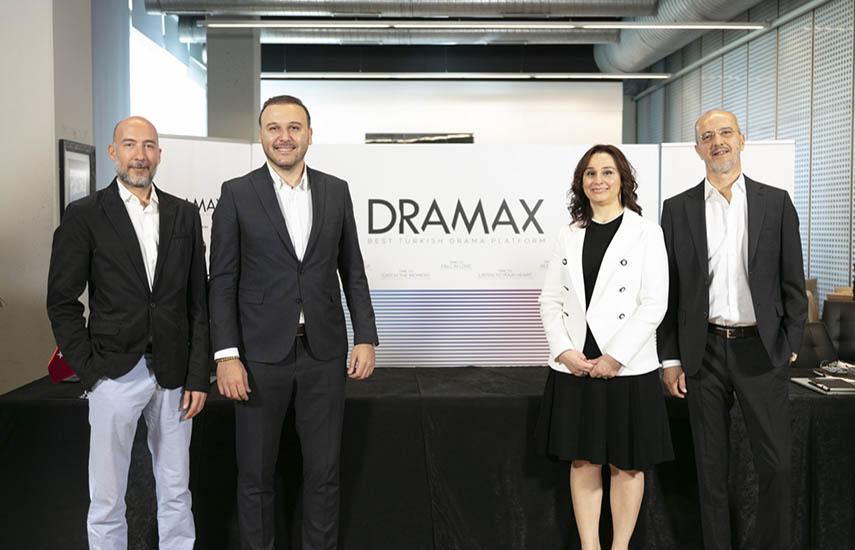 Los ejecutivos de Dramax y Demirören, en la presentación mundial, vía online, del nuevo servicio streaming.