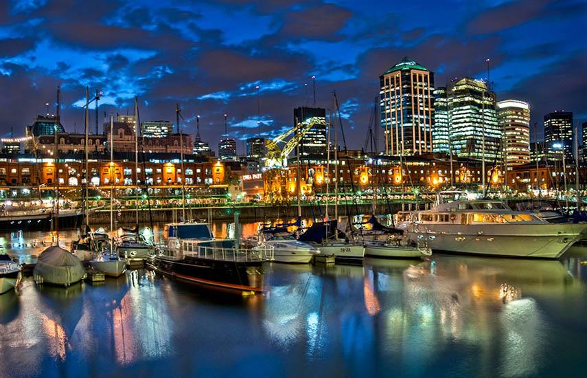 El barrio de Puerto Madero de la capital argentina será el escenario para estas nuevas jornadas. (Foto: Nico/Flickr)