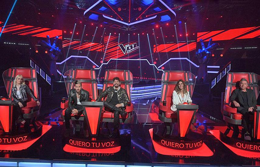 La Voz Argentina, el programa más visto de la TV abierta local y el más redituable para la televisora de ViacomCBS.
