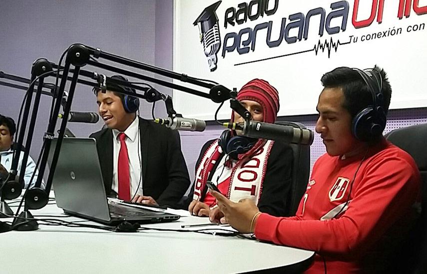 Dentro el ámbito deportivo, la radio Peruana Unión (de la Universidad Peruana Unión), realizó la retransmisión en quechua de los juegos de la selección peruana y equipos sudamericanos en el Mundial de Fútbol 2018. (Foto: @conexionupeu)