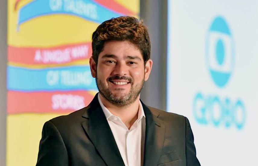 Raphael Corrêa Netto, Director de Negocios Internacionales de Globo.