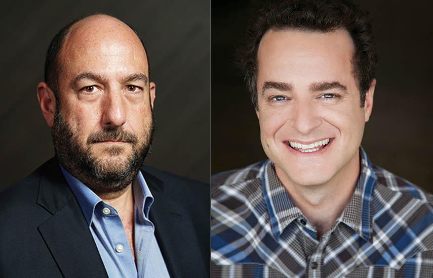 Alejandro Rincón, CEO de Endemol Shine Boomdog y Matt Besser, fundador de Upright Citizens Brigade (UCB).