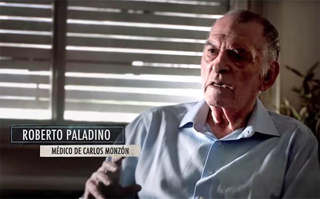 Roberto Paladino, su médico personal.