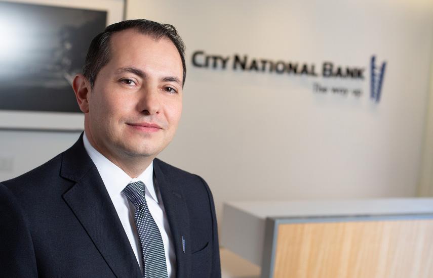 Rodrigo Nieto, vicepresidente del CN Bank, máximo responsable de la nueva oficina de Banca de Entretenimiento en Miami.