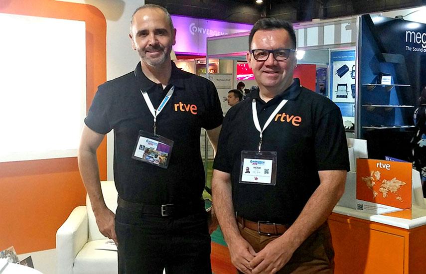 RTVE en ConvergenciaShow MX: José Fragoso y Víctor Reyero, representantes oficiales