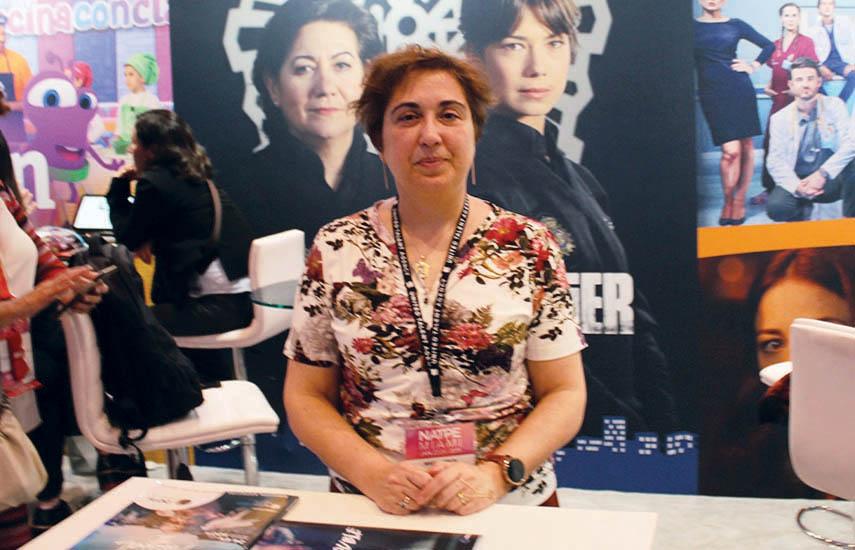 María Jesús Pérez, directora del Área Comercial Internacional, de RTVE.