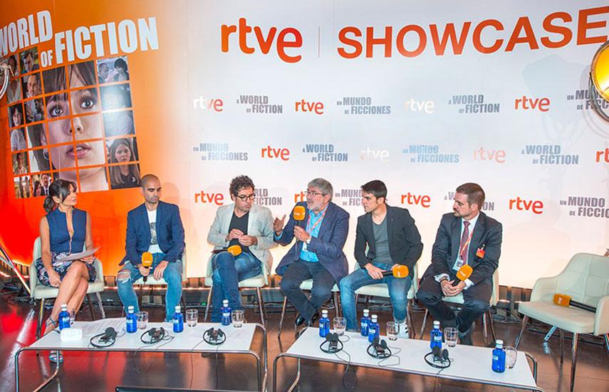 El showcase ha sido organizado por RTVE con la implicación directa de la dirección comercial de RTVE y la dirección de ficción y cine de TVE. (Foto: RTVE Comunicación)
