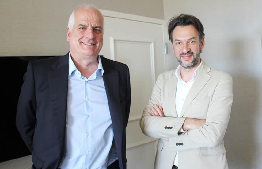 Rafael Bardem y Raúl Molina Uruñuela, ejecutivos del grupo español