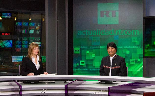 RT en Español aumentó su presencia en América Latina y España