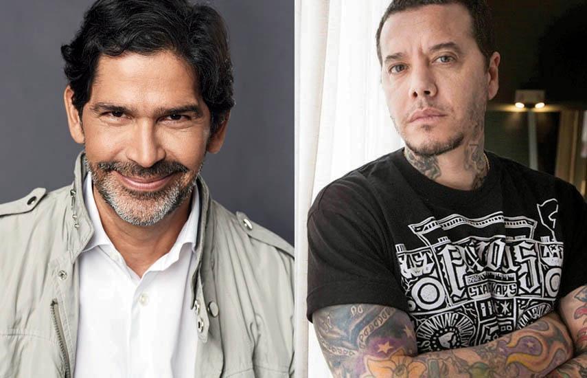Marcos Santana, presidente de Telemundo Global Studios, y Sebastián Ortega, fundador de Underground Producciones,
