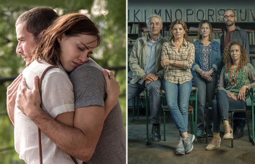 Los protagonistas centrales de 'Donde Está Mi Corazón' y 'Segunda Chance'.