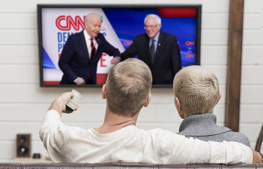 Para la tercera semana de marzo, la audiencia en vivo de todas las noticias locales de lunes a viernes experimentó un aumento del 50 por ciento entre los adultos mayores de 35 años.