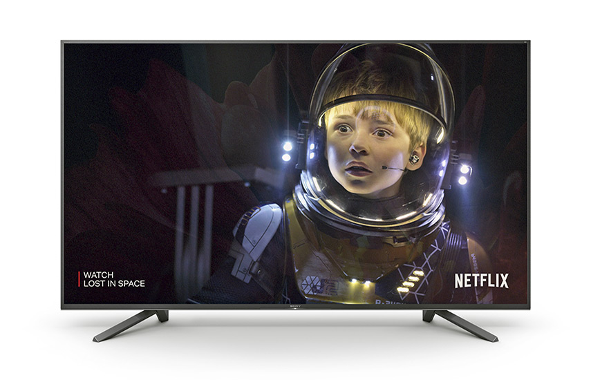 Sony MASTER Series Z9F LED con Lost in Space, de Netflix