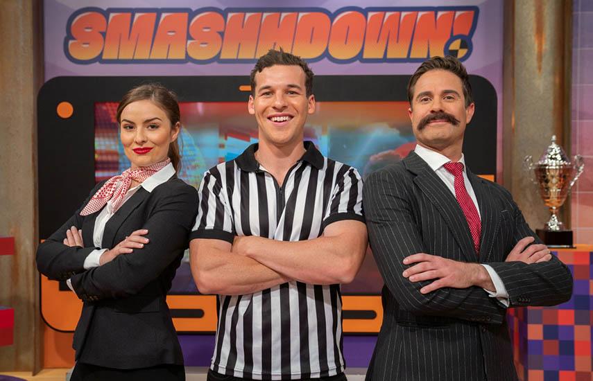 Smashhdown!, desafíos deportivos extravagantes y juegos para niños fresco, divertido y lleno de energía.