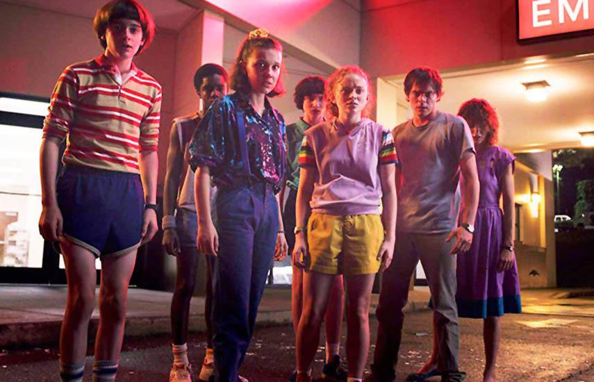 En EEUU, Stranger Things de Netflix fue la serie original digital más solicitada en el primer trimestre, según el informe.