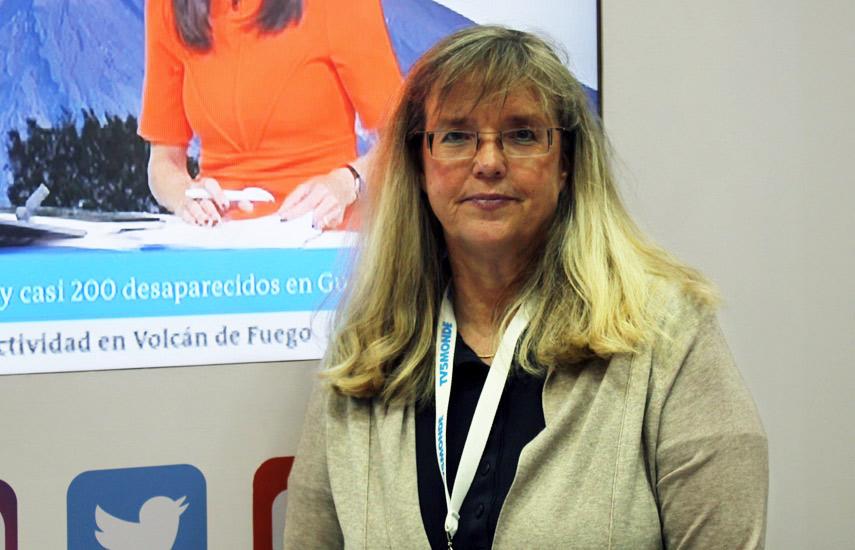Sylvia Viljoen, head de Distribución para las Américas de DW.