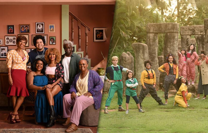 Barraco de Família y Acampamento Intergaláctico son las dos primeras producciones de esta alianza creada para financiar y distribuirpelículas brasileñas
