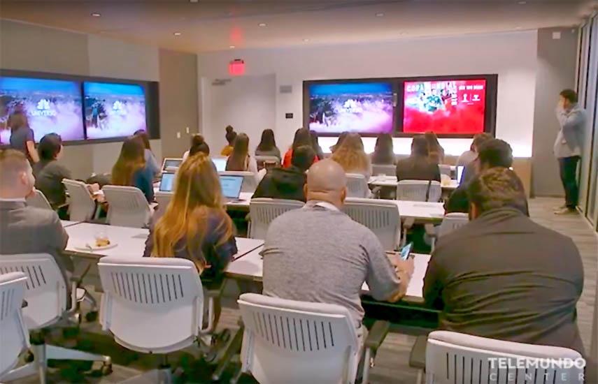 La beca es parte de Telemundo Academy, programa académico multimedia para desarrollar nuevos talentos en carreras en la industria de los medios de comunicación.