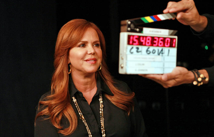 María Celeste Arrarás es una de las grandes estrella sudamericana que forman parte de esta apasionante campaña.
