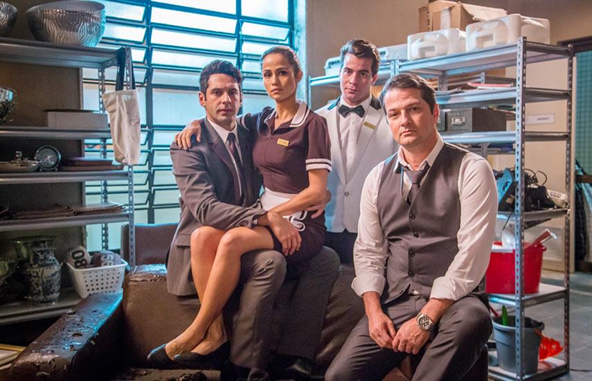 """""""La Trampa"""", producción brasileña ambientada en un hotel de lujo en Río de Janeiro"""