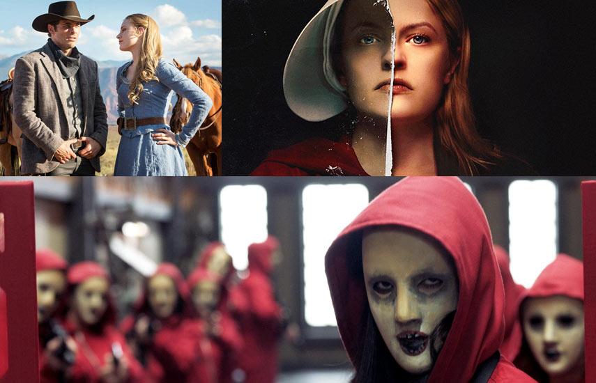"""""""The Handmaid's tale"""", """"Westworld"""" y """"La casa de papel"""", las tres series top del momento"""