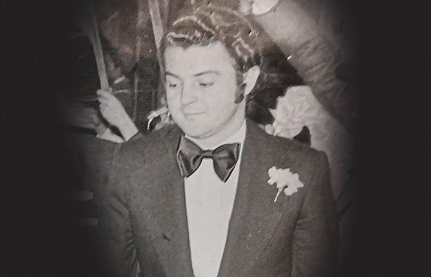 Theo Kouroglou en 1974, a los 26 años.