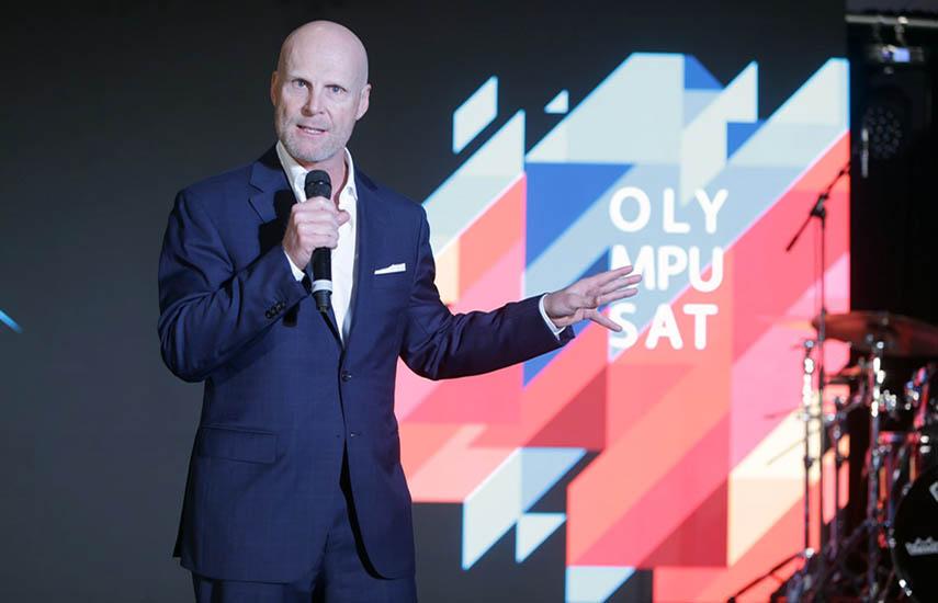 Tom Mohler, fundador y CEO de Olympusat,