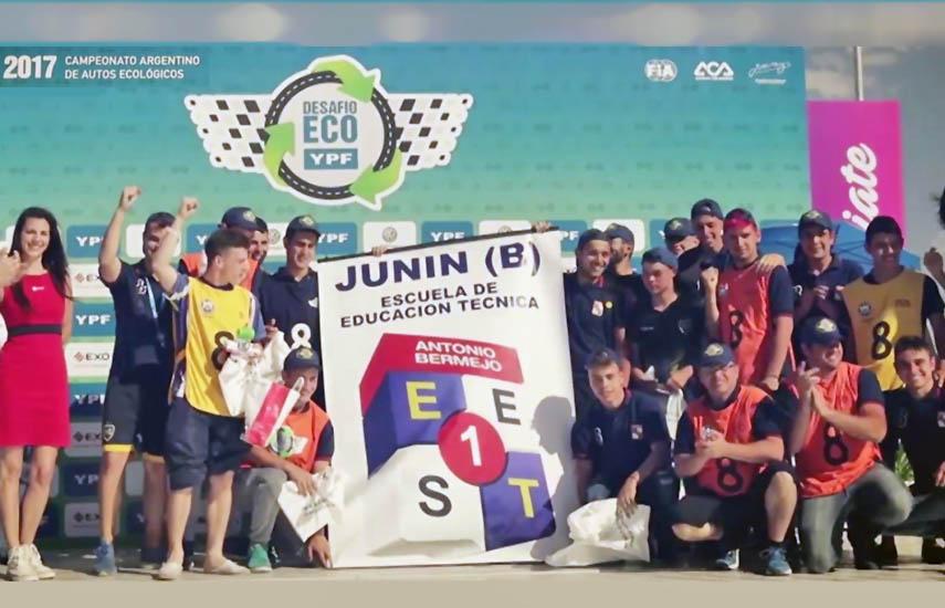"""La primera edición de la iniciativa fue ganada por los alumnos de la Escuela de Educación Técnica N°1 """"Antonio Bermejo"""" de Junín, ciudad de la provincia de Buenos Aires."""