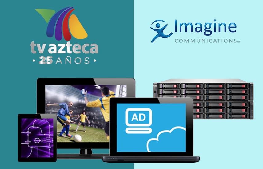 El objetivo final de la compañía es un flujo de trabajo IP integral: desde la cámara a la pantalla de los televidentes.