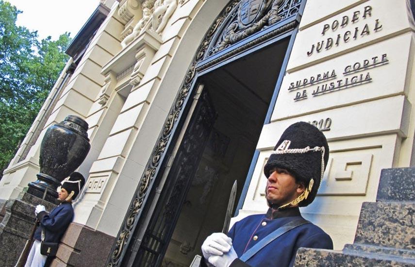 La Suprema Corte de Justicia (SCJ) de Uruguay