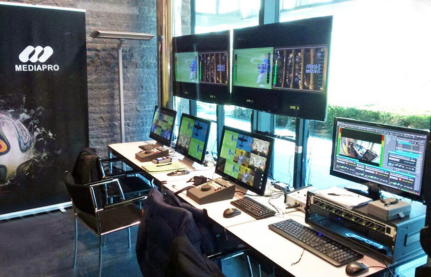El grupo audiovisual ha completado los procesos de homologación de la FIFA/FIBA para prestar servicios de videoarbitraje tanto en competiciones internacionales como nacionales.