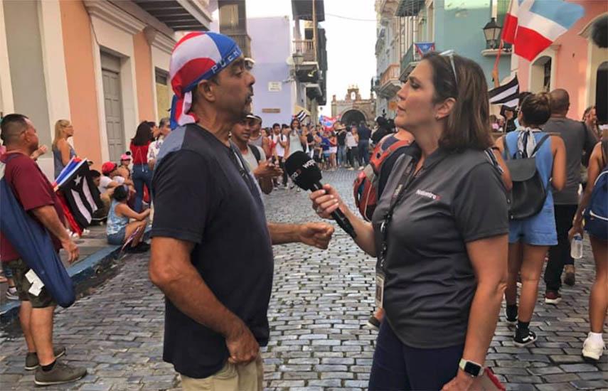 WAPA América ofreció más cobertura de la crisis política de Puerto Rico que cualquier otra cadena estadounidense.