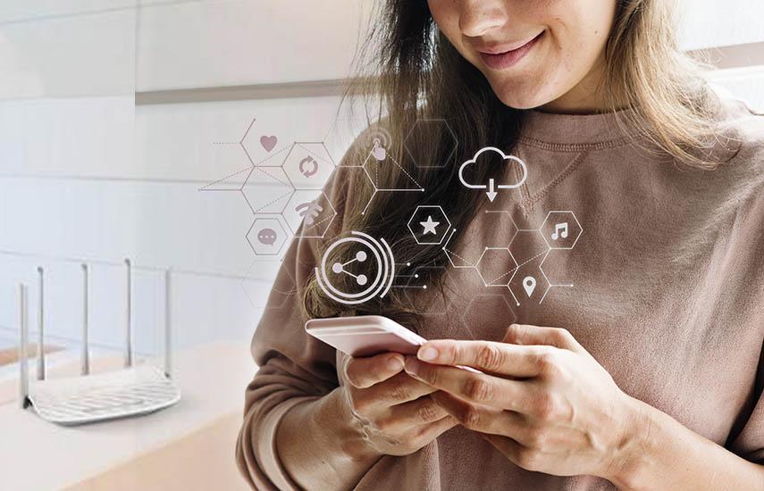 El hogar de banda ancha promedio tiene ahora 8.3 dispositivos CE conectados, en comparación con 8.4 en 2018.