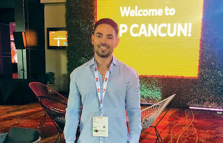 Yeshuah Castillo, vicepresidente de Producciones Originales de Olympusat.