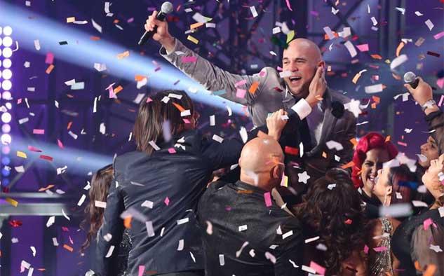 El portorriqueño Aarón Emanuel erigido en ganador de la primera temporada de Yo Soy el Artista.