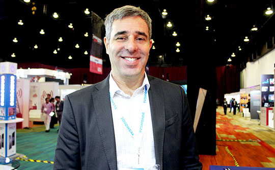 Javier López Casella, gerente general para América Latina de Zee Mundo