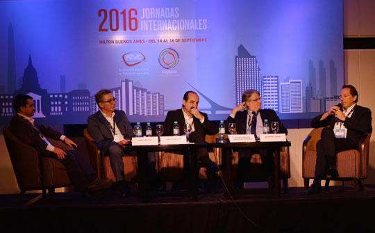 José Crettaz, Carlos Moltini, Jorge Di Blasio,Oscar Vicente Simões de Oiveira y Eduardo Stigol