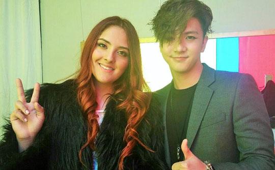 Ari y y el compositor surcoreano Thunder promocionan el Kpop en Lima