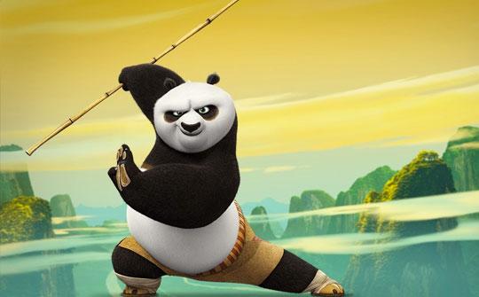 Oriental DreamWorks y Youku Business Division colaboraron en la creación de kun fu panda