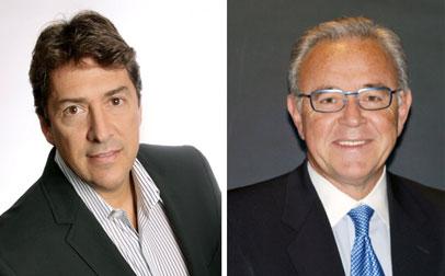 Fred Medina,director de Operaciones y Joaquín Blaya presidente ejecutivo. Lantica
