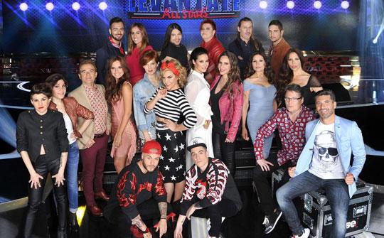 Levántate All Stars, Televisa