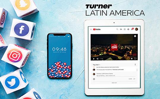 CNN, es una marca particularmente convocante en las redes sociales de América Latina, que registra en Facebook 12.1 millones en su cuenta de CNN en Español y más de 1 millón en CNN Chile.