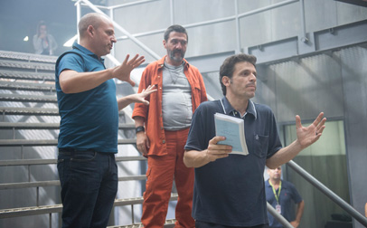 Supermax, dirigida por el cineasta Daniel Burman, es una de las basas del catálogo que presenta Globo en Budapest.